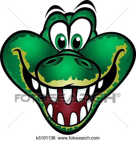Crocodile head clipart 5 » Clipart Portal.