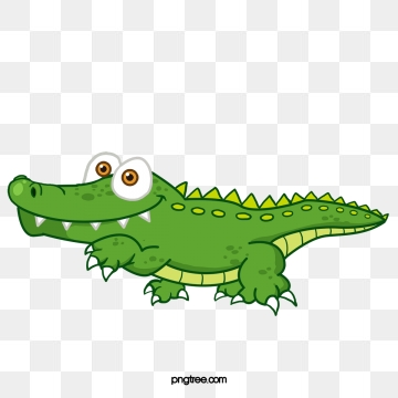 Crocodile PNG Images.