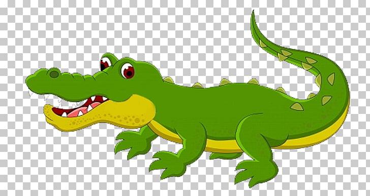 Crocodile Alligator Reptile Cartoon, Cartoon crocodile PNG.