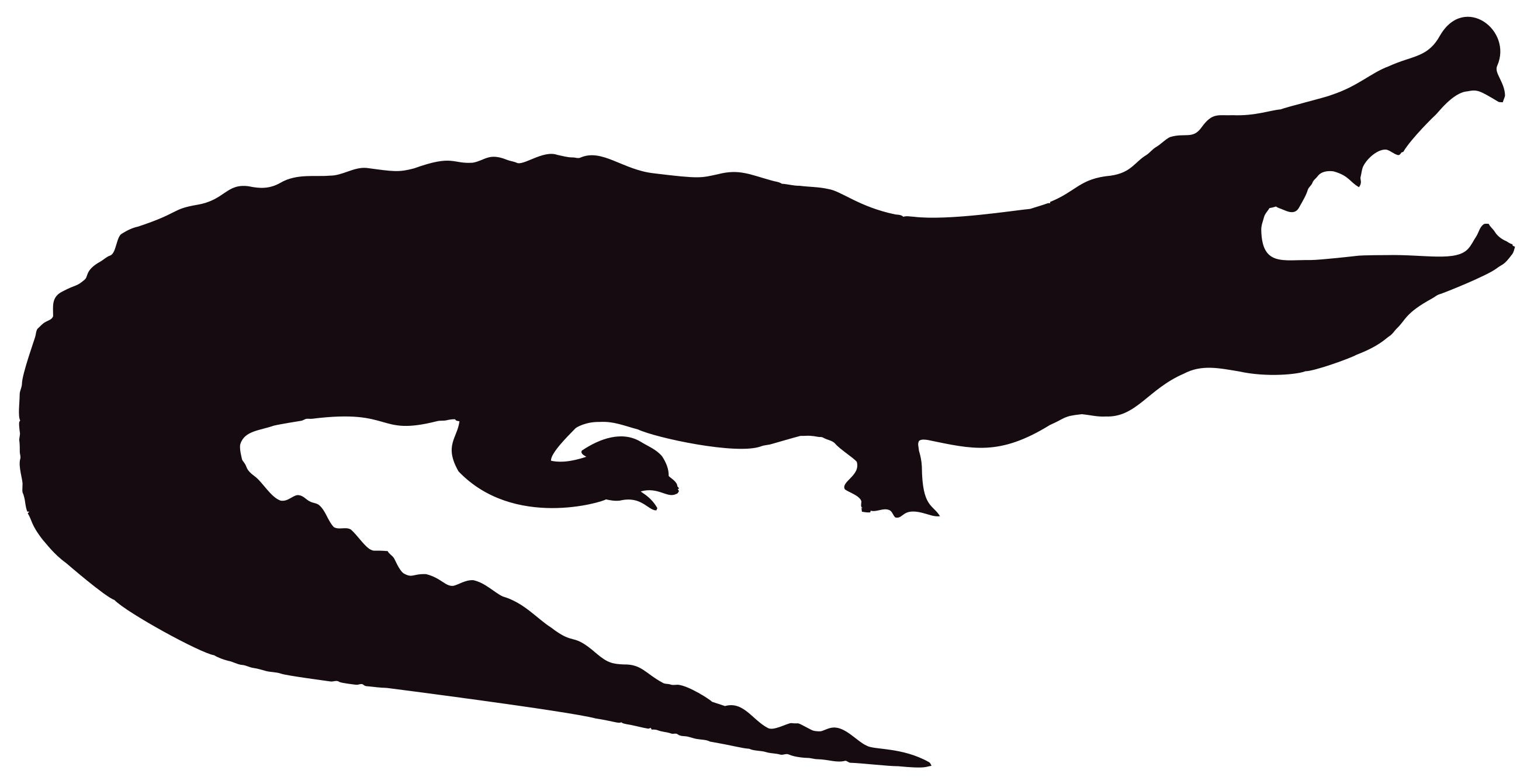 Crocodile Silhouette at GetDrawings.com.