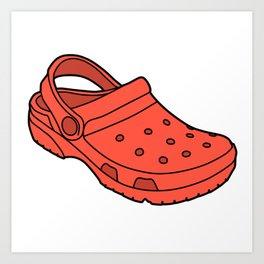 Crocs Art Prints.