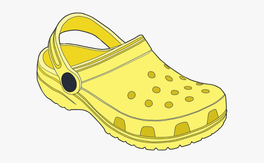 yellow #crocs #yellowaesthetic #aesthetic #vsco #freetoedit.