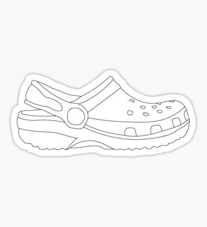 Croc Shoe Drawing at PaintingValley.com.