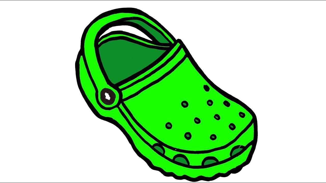 Shoe Art Drawing.