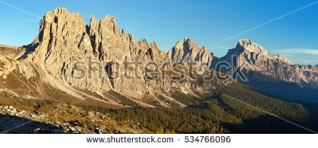 Dolomites Cortina Stock Photos, Royalty.