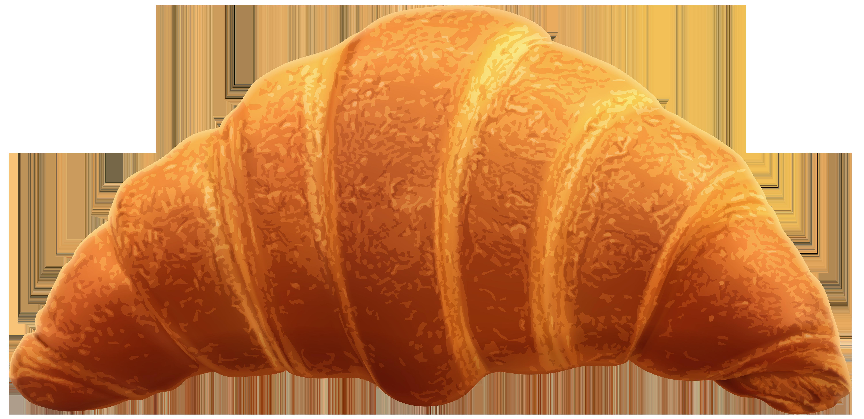 Croissant Transparent PNG Clip Art Image.