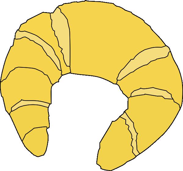 Croissant clip art (103256) Free SVG Download / 4 Vector.