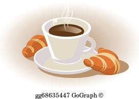 Croissant Clip Art.