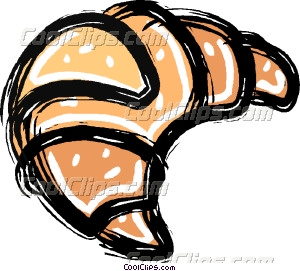 croissant Vector Clip art.