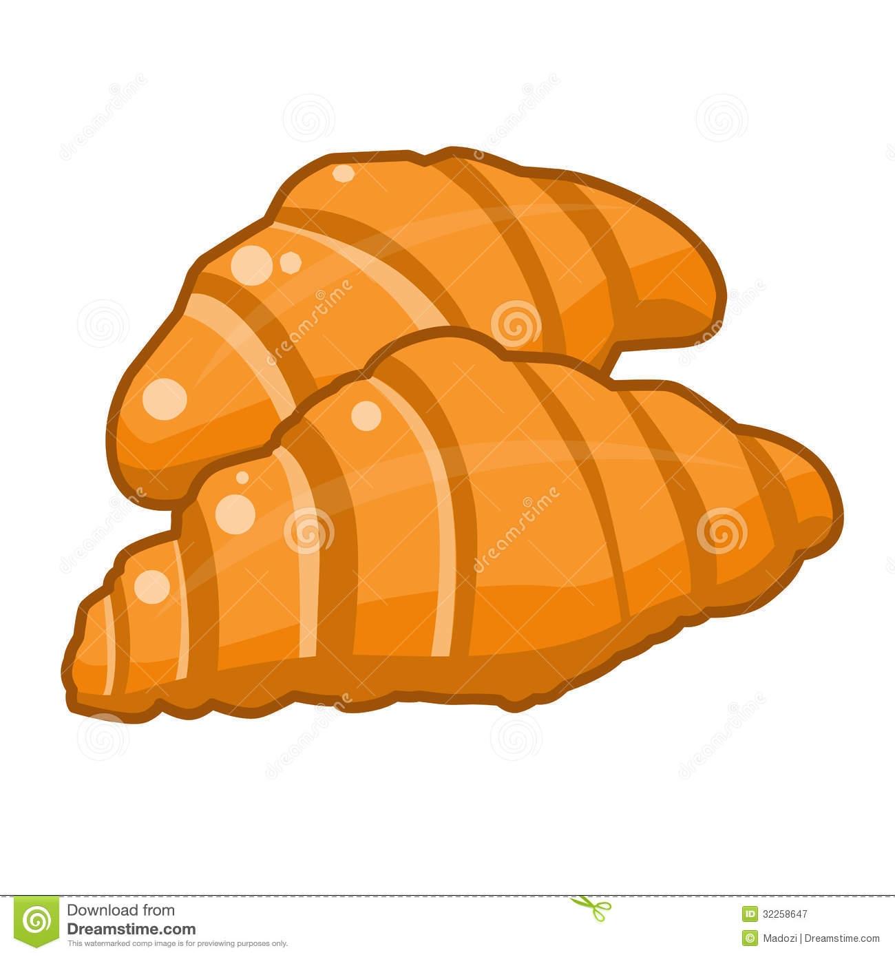 Croissant clipart.