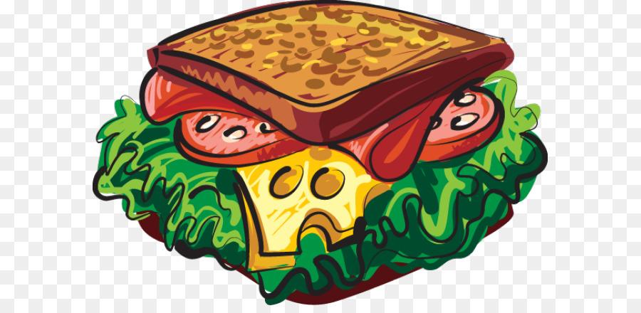 3721 Sandwich free clipart.