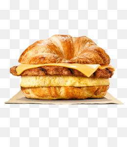 Free download Breakfast Whopper Hamburger English muffin.