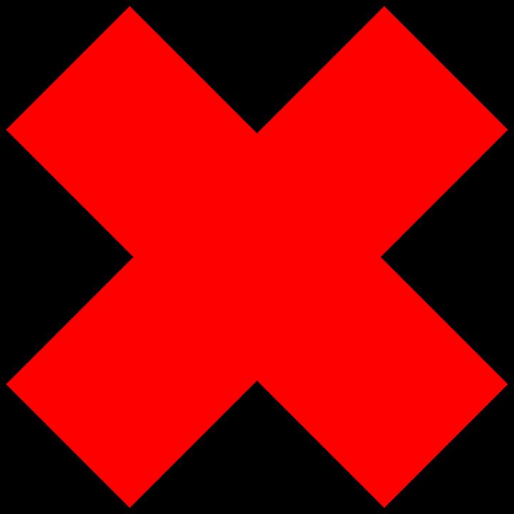 Croix rouge interdit png 4 » PNG Image.
