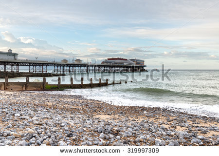 Cromer Pier Stock Photos, Royalty.