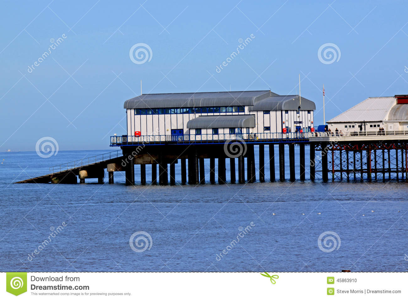 Cromer Pier And Lifeboat Station, Norfolk Editorial Image.