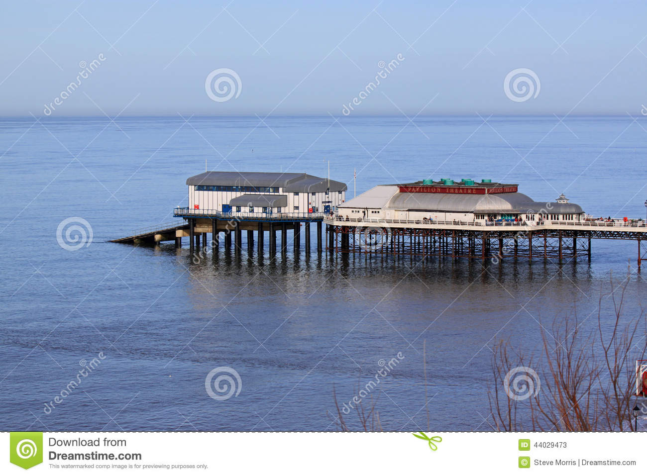 Cromer Pier Editorial Stock Photo.