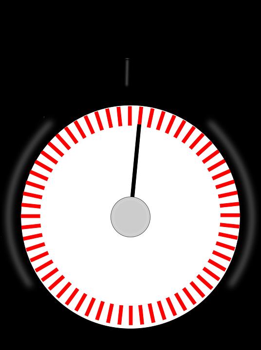 Cronómetro Reloj De Parada.