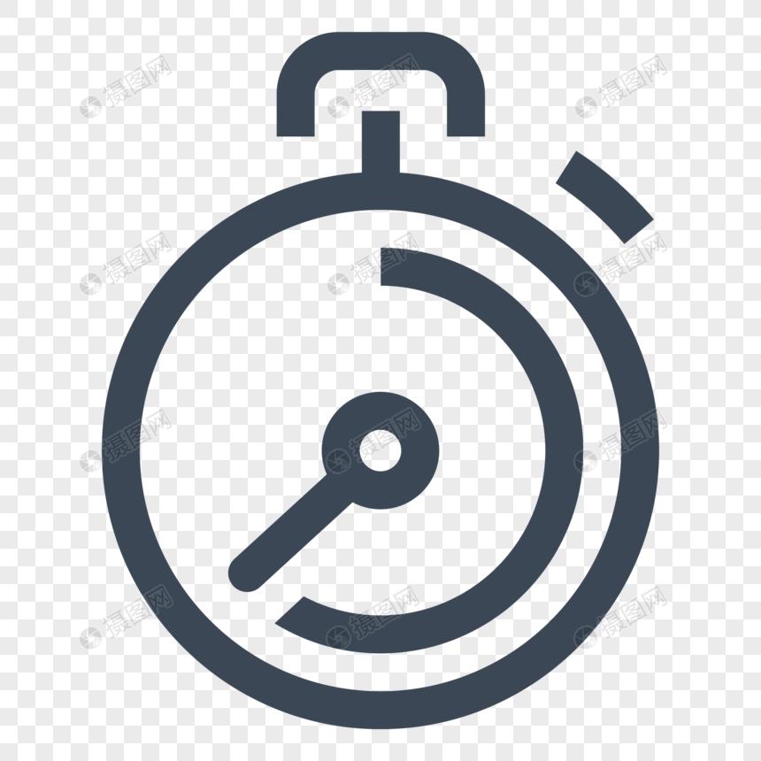 icono de cronómetro Imagen Descargar_PRF Gráficos 400562789_PNG.