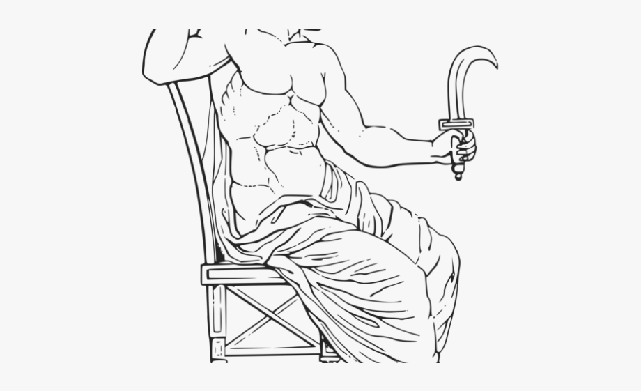 Mythology Clipart Cronus.
