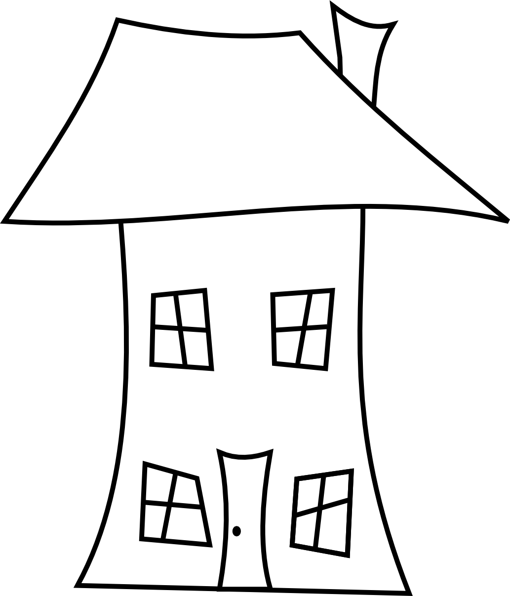 House Line Art.