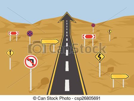 Straight road Vector Clip Art Illustrations. 976 Straight road.