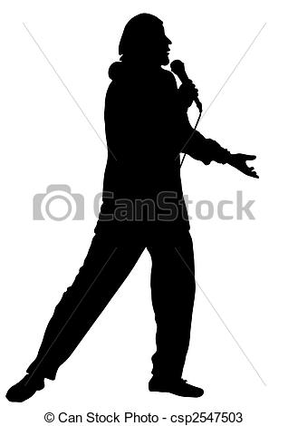 Crooner Vector Clipart Illustrations. 41 Crooner clip art vector.