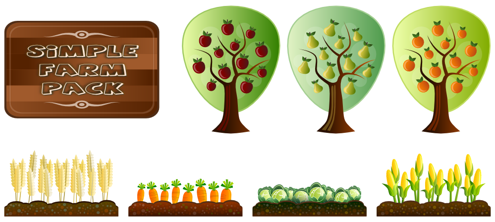 Farm Crop Clipart.