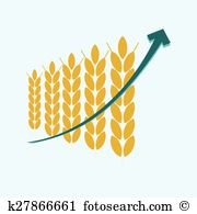 Crop failure Clip Art Vector Graphics. 5 crop failure EPS clipart.
