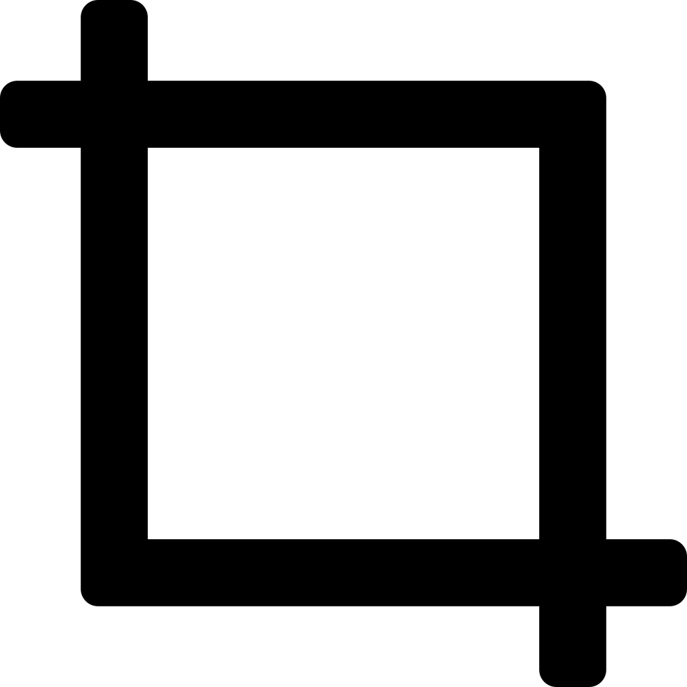 Crop Tool Svg Png Icon Free Download (#15744).