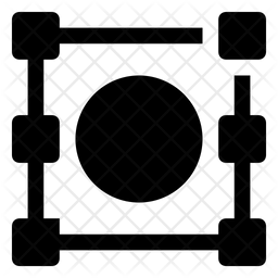 Image Crop Icon.