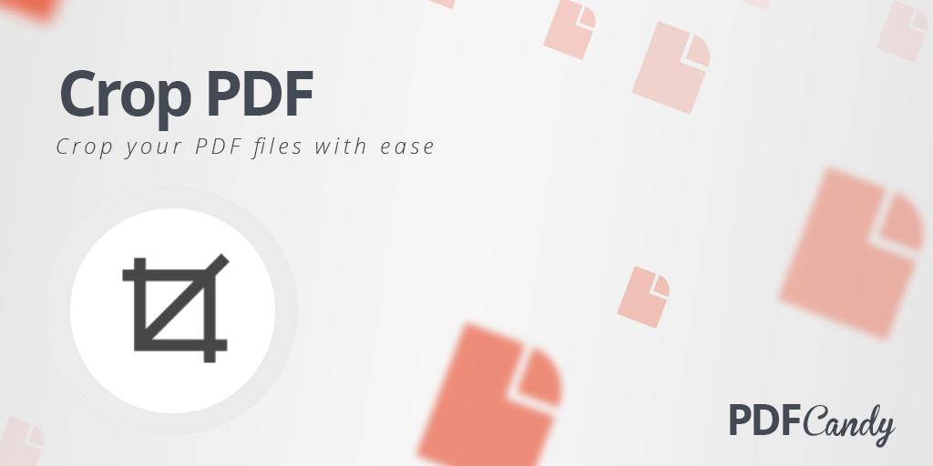 Crop PDF: free online PDF cropper.