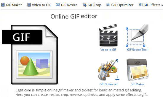 5 Free Online GIF Editor Websites to Cut, Crop, Resize, Optimize a GIF.
