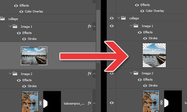 How to Crop (Delete) Pixels on a Single Layer in Photoshop.