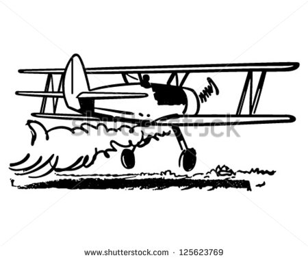 Crop spraying clipart #17