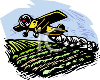 Crop spraying clipart #16