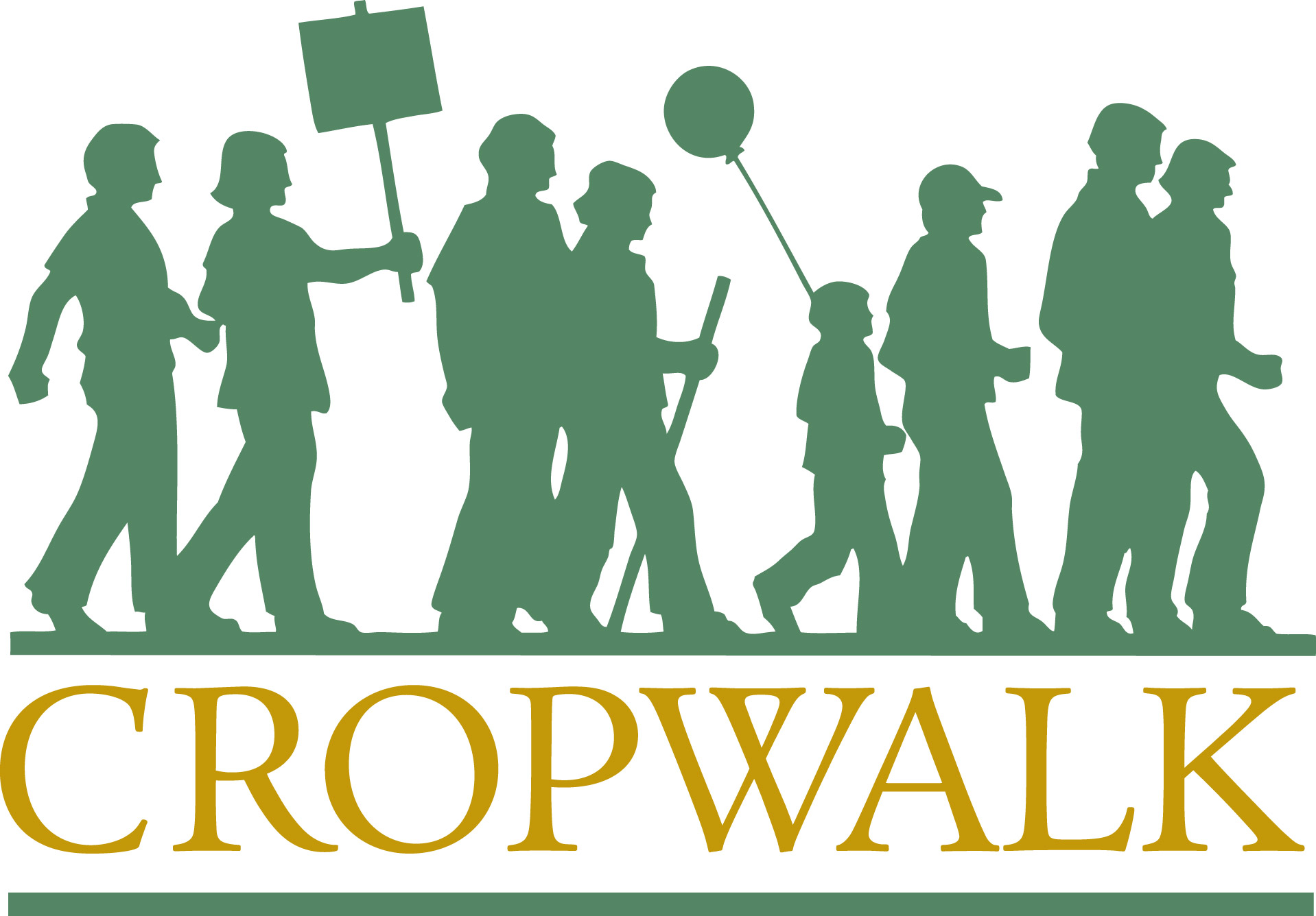 Crop walk clipart.
