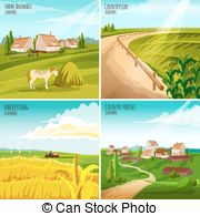 Cropland Clipart and Stock Illustrations. 8 Cropland vector EPS.