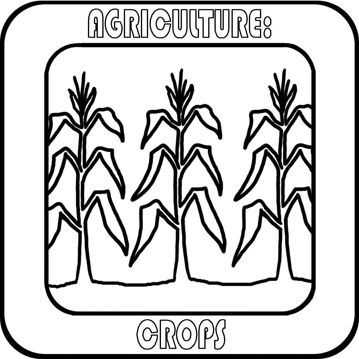 Crops Cliparts.