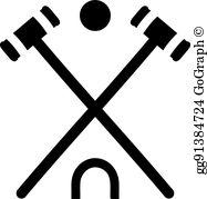 Croquet Clip Art.