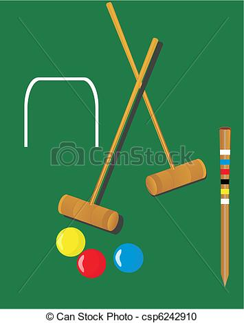 Croquet illustrations.