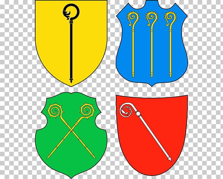Crosier Heraldry Bishop Abbot Shepherd\'s crook, culo PNG.