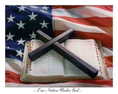 Flag With Cross Clipart.