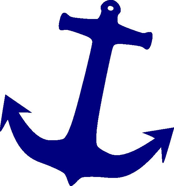 Gray Anchor Clipart.