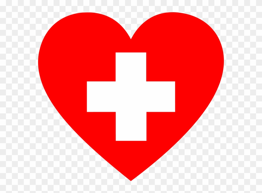 First Aid Heart Png Icon.