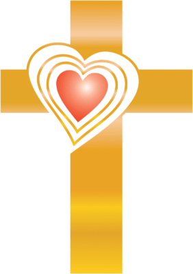 Cross and heart clipart 2 » Clipart Portal.
