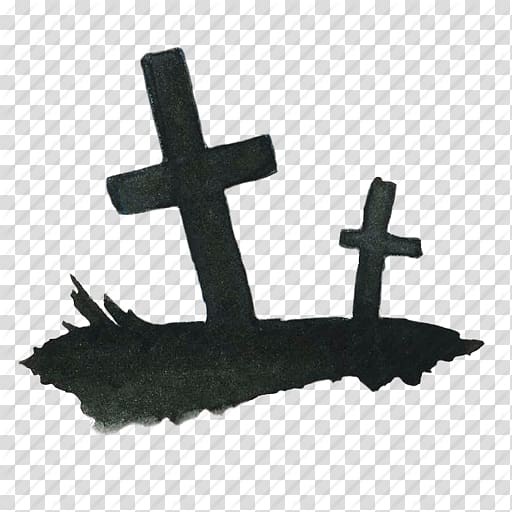 Two cross illustration, Headstone Cemetery Computer Icons Death, Rip.