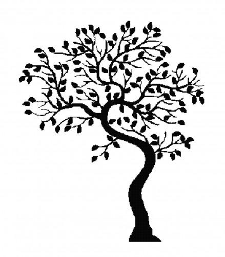 TEACHER SALE Tree Silhouettes Clipart Clip Art, Family Tree.