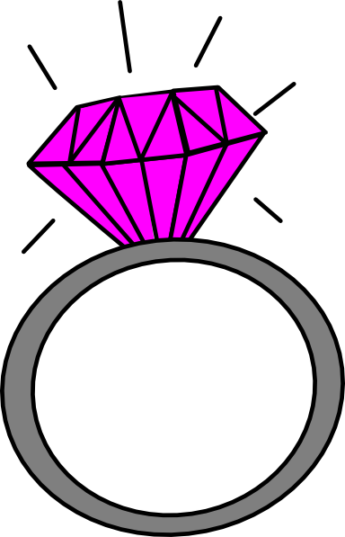 cross with ring clipart.
