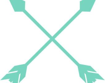 Crossing Arrows Clipart.