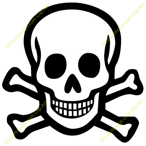 Skull And Crossbones Clip Art & Skull And Crossbones Clip Art Clip.